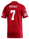 Adidas Frost #7 Home Jersey Nebraska Cornhuskers, Nebraska  Mens Jerseys, Huskers  Mens Jerseys, Nebraska  Mens Jerseys, Huskers  Mens Jerseys, Nebraska  Customized Jerseys  , Huskers  Customized Jerseys  , Nebraska Adidas Frost Replica Football Jersey, Huskers Adidas Frost Replica Football Jersey