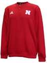 Adidas 2020 Nebraska Button Up Coaches Sweater - Red Nebraska Cornhuskers, Nebraska  Mens, Huskers  Mens, Nebraska  Mens Outerwear, Huskers  Mens Outerwear, Nebraska Adidas, Huskers Adidas, Nebraska Adidas Nebraska Button Up Coaches Sweater - Red, Huskers Adidas Nebraska Button Up Coaches Sweater - Red