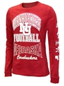 Adidas All Huskers Amped L/S Tee Nebraska Cornhuskers, Nebraska  T-Shirts, Huskers  T-Shirts, Nebraska  Mens, Huskers  Mens, Nebraska  Long Sleeve, Huskers  Long Sleeve, Nebraska Adidas, Huskers Adidas, Nebraska Adidas All Huskers Amped L/S Tee, Huskers Adidas All Huskers Amped L/S Tee