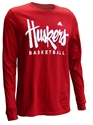 Adidas Huskers Basketball LS Tee Nebraska Cornhuskers, Nebraska  Mens T-Shirts, Huskers  Mens T-Shirts, Nebraska  Long Sleeve, Huskers  Long Sleeve, Nebraska  Mens, Huskers  Mens, Nebraska  Basketball, Huskers  Basketball, Nebraska Adidas Huskers Basketball LS Tee, Huskers Adidas Huskers Basketball LS Tee