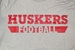 Adidas Huskers Football Locker Amped Tee - Gray - AT-C5014