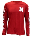 Adidas Huskers Speed Sleeves Climalite L/S Tee Nebraska Cornhuskers, Nebraska  T-Shirts, Huskers  T-Shirts, Nebraska  Mens, Huskers  Mens, Nebraska  Long Sleeve, Huskers  Long Sleeve, Nebraska Adidas, Huskers Adidas, Nebraska Adidas Huskers Speed Sleeves Climalite L/S Tee, Huskers Adidas Huskers Speed Sleeves Climalite L/S Tee