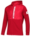 Adidas Nebraska Game Mode Full Zip Jacket - Red Nebraska Cornhuskers, Nebraska  Outerwear, Huskers  Outerwear, Nebraska  Mens, Huskers  Mens, Nebraska Adidas, Huskers Adidas, Nebraska Adidas Nebraska Game Mode Full Zip Jacket - Red, Huskers Adidas Nebraska Game Mode Full Zip Jacket - Red