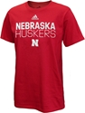 Adidas Nebraska Huskers Locker Amped Tee Nebraska Cornhuskers, Nebraska  Mens T-Shirts, Huskers  Mens T-Shirts, Nebraska  Mens, Huskers  Mens, Nebraska  Short Sleeve, Huskers  Short Sleeve, Nebraska Adidas, Huskers Adidas, Nebraska Adidas Nebraska Huskers Locker Amped Tee, Huskers Adidas Nebraska Huskers Locker Amped Tee
