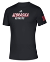 Adidas 2020 Nebraska Huskers Locker Chromed Tee Nebraska Cornhuskers, Nebraska  Short Sleeve, Huskers  Short Sleeve, Nebraska  Mens, Huskers  Mens, Nebraska  T-Shirts, Huskers  T-Shirts, Nebraska Adidas, Huskers Adidas, Nebraska Adidas Nebraska Huskers Locker Chromed Tee, Huskers Adidas Nebraska Huskers Locker Chromed Tee