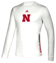 Adidas 2020 Nebraska Huskers Locker Side By Side LS Tee Nebraska Cornhuskers, Nebraska  Long Sleeve, Huskers  Long Sleeve, Nebraska  Mens, Huskers  Mens, Nebraska  T-Shirts, Huskers  T-Shirts, Nebraska Adidas, Huskers Adidas, Nebraska Adidas Nebraska Huskers Locker Side By Side LS Tee, Huskers Adidas Nebraska Huskers Locker Side By Side LS Tee