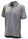 Adidas Nebraska Ultimate Textured Golf Polo Nebraska Cornhuskers, Nebraska  Mens Polos, Huskers  Mens Polos, Nebraska Polos, Huskers Polos, Nebraska Adidas, Huskers Adidas, Nebraska Adidas Nebraska Ultimate Textured Stripe Polo, Huskers Adidas Nebraska Ultimate Textured Stripe Polo