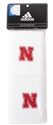 Adidas Nebraska Wrist Band Nebraska Cornhuskers, Nebraska  Mens, Huskers  Mens, Nebraska  Ladies, Huskers  Ladies, Nebraska  Ladies Accessories, Huskers  Ladies Accessories, Nebraska  Mens Accessories, Huskers  Mens Accessories, Nebraska  Watches Bands & Buckles, Huskers  Watches Bands & Buckles, Nebraska Adidas 4 In. Band, Huskers Adidas 4 In. Band
