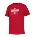 Adidas 2020 Youth Huskers Football Locker Tee Nebraska Cornhuskers, Nebraska  Kids, Huskers  Kids, Nebraska  Youth, Huskers  Youth, Nebraska Adidas, Huskers Adidas, Nebraska Adidas Youth Huskers Football Locker Tee, Huskers Adidas Youth Huskers Football Locker Tee