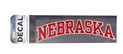 Arched Nebraska Decal Nebraska Cornhuskers, Nebraska Vehicle, Huskers Vehicle, Nebraska Stickers Decals & Magnets, Huskers Stickers Decals & Magnets, Nebraska Arched Nebraska Decal, Huskers Arched Nebraska Decal