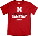 ESPN College Gameday Nebraska Tee Nebraska Cornhuskers, Nebraska  Mens T-Shirts, Huskers  Mens T-Shirts, Nebraska  Mens, Huskers  Mens, Nebraska  Short Sleeve, Huskers  Short Sleeve, Nebraska ESPN College Gameday Nebraska Tee, Huskers ESPN College Gameday Nebraska Tee