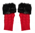 Game Day Fuzzy Fingerless Gloves Nebraska Cornhuskers, Nebraska  Ladies, Huskers  Ladies, Nebraska  Ladies Accessories, Huskers  Ladies Accessories, Nebraska  Beads & Fun Stuff, Huskers  Beads & Fun Stuff, Nebraska Red Fuzzy Fingerless Gloves IMC, Huskers Red Fuzzy Fingerless Gloves IMC