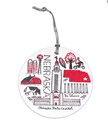 Gash Nebraska Capitol Ornament Nebraska Cornhuskers, Nebraska  Holiday Items, Huskers  Holiday Items, Nebraska Gash Nebraska Capitol Ornament, Huskers Gash Nebraska Capitol Ornament