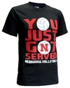 Get N Served Cornhuskers Volleyball Tee Nebraska Cornhuskers, Nebraska  Short Sleeve, Huskers  Short Sleeve, Nebraska Volleyball, Huskers Volleyball, Nebraska  Mens T-Shirts, Huskers  Mens T-Shirts, Nebraska  Ladies, Huskers  Ladies, Nebraska  Ladies T-Shirts, Huskers  Ladies T-Shirts, Nebraska Get N Served Cornhuskers Volleyball Tee, Huskers Get N Served Cornhuskers Volleyball Tee