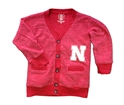 Girls Nebraska Slub Cardigan Nebraska Cornhuskers, Nebraska  Childrens, Huskers  Childrens, Nebraska  Kids, Huskers  Kids, Nebraska Girls Nebraska Slub Cardigan, Huskers Girls Nebraska Slub Cardigan