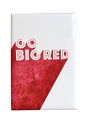 Go Big Red Shade Fridge Magnet Nebraska Cornhuskers, Nebraska Stickers Decals & Magnets, Huskers Stickers Decals & Magnets, Nebraska  Kitchen & Glassware, Huskers  Kitchen & Glassware, Nebraska Go Big Red Shade Fridge Magnet, Huskers Go Big Red Shade Fridge Magnet