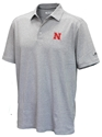 Heathered Huskers  Pacific Shore Polo Nebraska Cornhuskers, Nebraska  Mens Polos, Huskers  Mens Polos, Nebraska Polos, Huskers Polos, Nebraska Heathered Huskers  Pacific Shore Polo, Huskers Heathered Huskers  Pacific Shore Polo