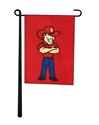 Herbie Husker Garden Flag Nebraska Cornhuskers, Nebraska  Flags & Windsocks, Huskers  Flags & Windsocks, Nebraska Herbie Husker Garden Flag, Huskers Herbie Husker Garden Flag