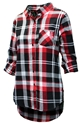 Husker Gals Boyfriend Plaid Button Up - Black Nebraska Cornhuskers, Nebraska  Ladies Tops, Huskers  Ladies Tops, Nebraska  Ladies Polos, Huskers  Ladies Polos, Nebraska Husker Gals Boyfriend Plaid Button Up - Black, Huskers Husker Gals Boyfriend Plaid Button Up - Black