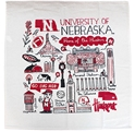 Husker Landmarks Julia Gash Kitchen Towel Nebraska Cornhuskers, Nebraska  Kitchen & Glassware, Huskers  Kitchen & Glassware, Nebraska Husker Landmarks Julia Gash Kitchen Towel, Huskers Husker Landmarks Julia Gash Kitchen Towel
