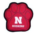 Husker Paw Squeak Toy Nebraska Cornhuskers, Nebraska Pet Items, Huskers Pet Items, Nebraska Husker Paw Squeak Toy, Huskers Husker Paw Squeak Toy