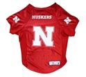 Husker Pets Stretch Jersey Nebraska Cornhuskers, Nebraska Pet Items, Huskers Pet Items, Nebraska Husker Pets Stretch Jersey, Huskers Husker Pets Stretch Jersey