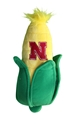 Husker Tough Plush Corn Cob Nebraska Cornhuskers, Nebraska Pet Items, Huskers Pet Items, Nebraska Novelty, Huskers Novelty, Nebraska Husker Tough Plush Corn Cob, Huskers Husker Tough Plush Corn Cob