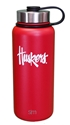 Huskers 32 Stainless Steel Bottle Nebraska Cornhuskers, Nebraska  Kitchen & Glassware, Huskers  Kitchen & Glassware, Nebraska  Tailgating, Huskers  Tailgating, Nebraska Huskers 32 Stainless Steel Bottle, Huskers Huskers 32 Stainless Steel Bottle