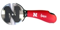 Huskers Pizza Cutter Nebraska Cornhuskers, Nebraska  Kitchen & Glassware, Huskers  Kitchen & Glassware, Nebraska N Pizza Cutter Sports Vault, Huskers N Pizza Cutter Sports Vault