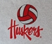 Huskers Volleyball Tee - AT-C5127