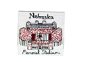Julia Gash Memorial Stadium Magnet Nebraska Cornhuskers, Nebraska Stickers Decals & Magnets, Huskers Stickers Decals & Magnets, Nebraska  Kitchen & Glassware, Huskers  Kitchen & Glassware, Nebraska Julia Gash Memorial Stadium Magnet, Huskers Julia Gash Memorial Stadium Magnet