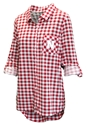 Ladies Nebraska Wanderer Gingham Shirt Nebraska Cornhuskers, Nebraska  Ladies Polos, Huskers  Ladies Polos, Nebraska  Ladies Tops, Huskers  Ladies Tops, Nebraska Ladies Nebraska Wanderer Nightshirt, Huskers Ladies Nebraska Wanderer Nightshirt