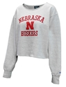 Lady Huskers Wide Neck Cropped Crew Nebraska Cornhuskers, Nebraska  Ladies Sweatshirts, Huskers  Ladies Sweatshirts, Nebraska  Crew, Huskers  Crew, Nebraska  Ladies, Huskers  Ladies, Nebraska Lady Huskers Wide Neck Cropped Crew, Huskers Lady Huskers Wide Neck Cropped Crew