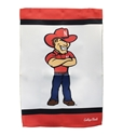 NU Herbie 2 Sided Garden Flag Nebraska Cornhuskers, Nebraska  Patio, Lawn & Garden, Huskers  Patio, Lawn & Garden, Nebraska  Flags & Windsocks, Huskers  Flags & Windsocks, Nebraska NU Herbie 2 Sided Garden Flag, Huskers NU Herbie 2 Sided Garden Flag