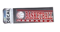 Nebraska Basketball Decal Nebraska Cornhuskers, Nebraska Vehicle, Huskers Vehicle, Nebraska Stickers Decals & Magnets, Huskers Stickers Decals & Magnets, Nebraska  Basketball, Huskers  Basketball, Nebraska Nebraska Basketball Decal, Huskers Nebraska Basketball Decal