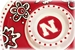 Nebraska Chip and Dip Floral Tray - KG-79181