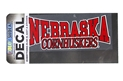 Nebraska Cornhuskers Decal Nebraska Cornhuskers, Nebraska Vehicle, Huskers Vehicle, Nebraska Stickers Decals & Magnets, Huskers Stickers Decals & Magnets, Nebraska Nebraska Cornhuskers Decal, Huskers Nebraska Cornhuskers Decal