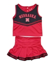 Nebraska Huskers Toddler Girls Cheer Set Nebraska Cornhuskers, Nebraska  Childrens, Huskers  Childrens, Nebraska Nebraska Huskers Toddler Girls Cheer Set, Huskers Nebraska Huskers Toddler Girls Cheer Set