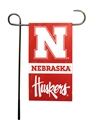Nebraska Mini Two Sided Garden Flag Nebraska Cornhuskers, Nebraska  Flags & Windsocks, Huskers  Flags & Windsocks, Nebraska  Patio, Lawn & Garden, Huskers  Patio, Lawn & Garden, Nebraska  Flags & Windsocks, Huskers  Flags & Windsocks, Nebraska Nebraska Mini Two Sided Garden Flag, Huskers Nebraska Mini Two Sided Garden Flag