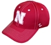 Nebraska N Poly Fitted Cap - HT-C8382