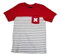 Nebraska Youth N Stripe Pocket Tee Nebraska Cornhuskers, Nebraska  Youth, Huskers  Youth, Nebraska  Kids, Huskers  Kids, Nebraska Nebraska N Stripe Pocket Tee, Huskers Nebraska N Stripe Pocket Tee