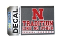 Nebraska N Tradition Decal Nebraska Cornhuskers, Nebraska Vehicle, Huskers Vehicle, Nebraska Stickers Decals & Magnets, Huskers Stickers Decals & Magnets, Nebraska Nebraska N Tradition Decal, Huskers Nebraska N Tradition Decal