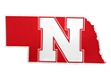 Nebraska State Felt Wall Pennant Nebraska Cornhuskers, Nebraska  Flags & Windsocks, Huskers  Flags & Windsocks, Nebraska  Flags & Windsocks, Huskers  Flags & Windsocks, Nebraska State Shaped N Pennant, Huskers State Shaped N Pennant