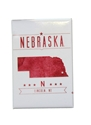 Nebraska State Lincoln NE Fridge Magnet Nebraska Cornhuskers, Nebraska Stickers Decals & Magnets, Huskers Stickers Decals & Magnets, Nebraska  Kitchen & Glassware, Huskers  Kitchen & Glassware, Nebraska Nebraska State Lincoln NE Fridge Magnet, Huskers Nebraska State Lincoln NE Fridge Magnet