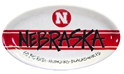 Nebraska Striped Gameday Platter Nebraska Cornhuskers, Nebraska  Kitchen & Glassware, Huskers  Kitchen & Glassware, Nebraska  Tailgating, Huskers  Tailgating, Nebraska Nebraska Striped Platter, Huskers Nebraska Striped Platter