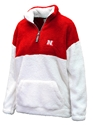 Nebraska Womens Sherpa Quarter Zip Jacket Nebraska Cornhuskers, Nebraska  Ladies, Huskers  Ladies, Nebraska  Ladies Outerwear, Huskers  Ladies Outerwear, Nebraska Nebraska Womens Sherpa Quarter Zip Jacket, Huskers Nebraska Womens Sherpa Quarter Zip Jacket