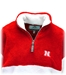 Nebraska Womens Sherpa Quarter Zip Jacket - AW-C2053