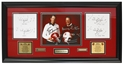 "Osborne Switzer Respected Rivals Autographed Plaque Nebraska Cornhuskers, husker football, nebraska cornhuskers merchandise, husker merchandise, nebraska merchandise, husker memorabilia, husker autographed, nebraska cornhuskers autographed, nebraska cornhuskers memorabilia, nebraska cornhuskers collectible, Autographed ""Diary of a Husker"""