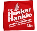 Road To The 1995 Orange Bowl Husker Hanky Nebraska Cornhuskers, Nebraska Pink, Huskers Pink, Nebraska Road To The 1995 Orange Bowl Husker Hanky, Huskers Road To The 1995 Orange Bowl Husker Hanky