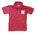 Toddler Boys Cloudy Yarn Nebraska Polo Nebraska Cornhuskers, Nebraska  Childrens, Huskers  Childrens, Nebraska Polos, Huskers Polos, Nebraska Toddler Boys Cloudy Yarn Nebraska Polo, Huskers Toddler Boys Cloudy Yarn Nebraska Polo